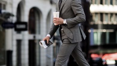 Photo of The formal outfit: the double cuff shirt.