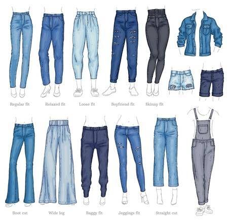 the pants fits women