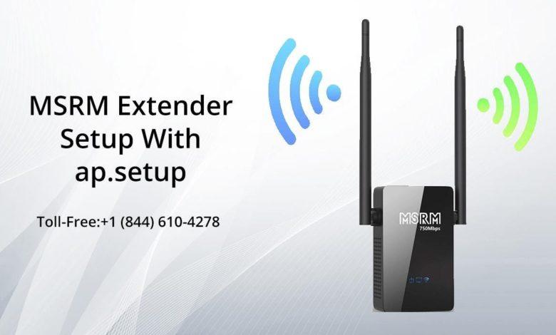 MSRM Extender Setup