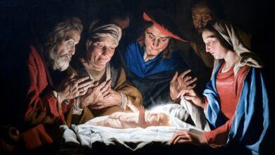 Photo of Christmas Baby Jesus Figurine